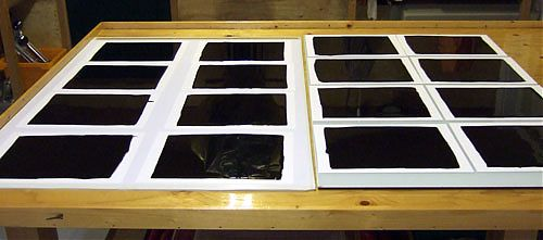 gieten pigmentpapier